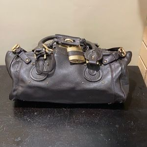 CHLOE Paddington Shoulder LIKE Brown Bag